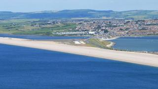Portland Beach Road and Chesil Beach