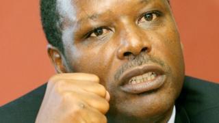 Pierre Buyoya, a Burundian politician