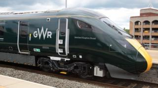 One of the new GWR trains