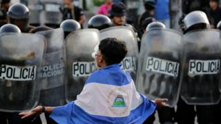Nicaragua refugees: 'I don't understand why people hate us'