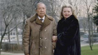 Bảo Đại và Monique Thái Phương