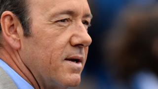 Image shows the actor Kevin Spacey