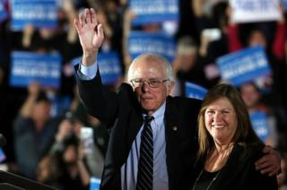 Jane Sanders was constantly at her husband's side during his surprisingly popular campaign