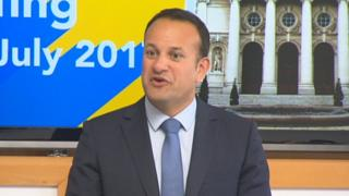 Leo Varadkar at a European Council meeting in Brussels.