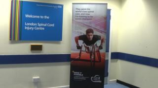 Spinal injuries clinic at the Royal National Orthopaedic Hospital