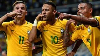 'Yan wasan Brazil
