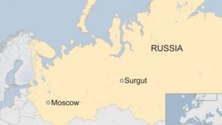 แผนที่รัสเซีย