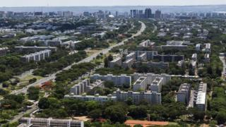 Brasília vista do alto