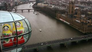 матрешки в Лондоне