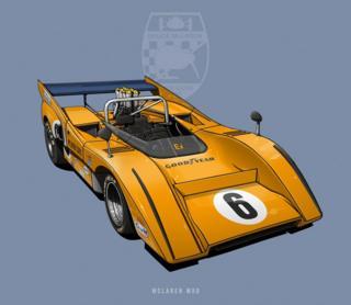 "McLaren M8D - ""Batmobile"""