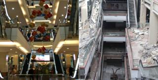Shahba Mall before and after