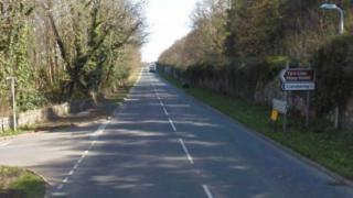 A499 near Llandwrog