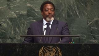 Le président Congolais Joseph Kabila lors de la 72ème session des Nations unies