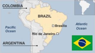 Ramani ya Brazil