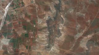 تل عزان در جنوب حلب