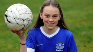 Zoe Tynan signed for Everton after leaving primary school