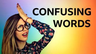 """Слова, которые мы путаем: тест по английскому языку / Проект """"Уроки английского"""" на Би-би-си"""
