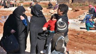 Warga sipil Aleppo