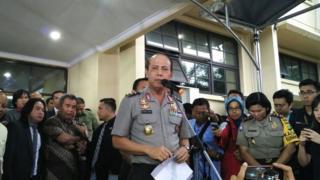 Boy Rafli Amar, polisi