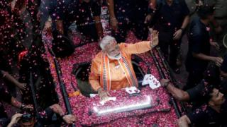 India election results 2019: Narendra Modi takes commanding lead