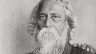 নোবেল জয়ী সাহিত্যিক রবীন্দ্রনাথ ঠাকুর
