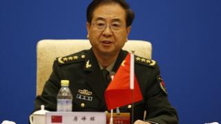 2014年8月,上海合作组织成员国军队总参谋长会议在北京钓鱼台国宾馆举行。房峰辉在会上发言。