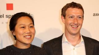 Priscilla Chan y Mark Zuckerberg.