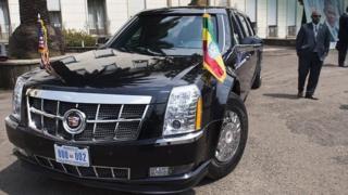 سيارة دبلوماسية أمريكية في إثيوبيا