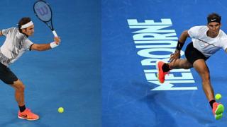 Federer et Nadal