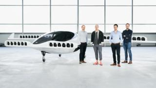 The autonomous air taxi from Lilium