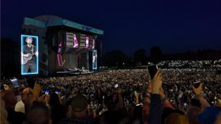 Ed Sheeran at Chantry Park