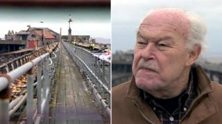 Birnbeck Pier and Timothy West
