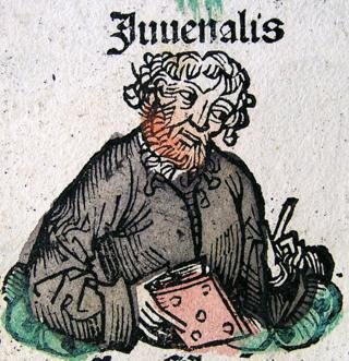 Ilustração de Juvenal