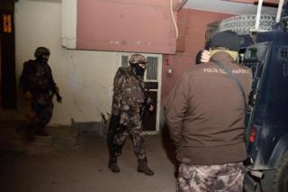 Adana'da operasyon