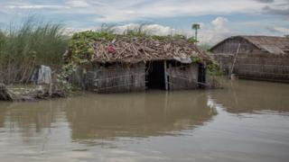 ফাইল ছবি : ২০১৭ সালে বন্যা আক্রান্ত উত্তরের গাইবান্ধা এলাকা
