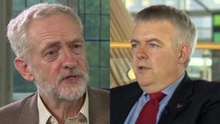 Corbyn a Jones