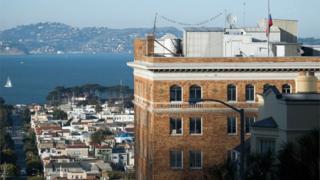 Russian consulate in San Francisco