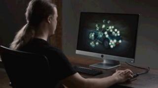 Solu computer in use