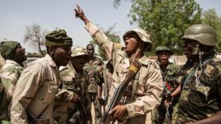 Rundunar sojin Nigeria ta ce dakarunta na samun nasarar fatattakar 'yan Boko Haram