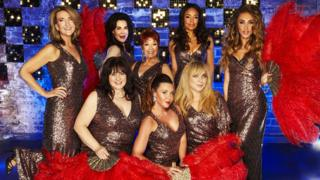 The cast of The Real Full Monty: Ladies' Night