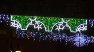 Pants Christmas lights
