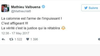 Le milieu offensif de Lyon a déclaré que la calomnie est l'arme de l'impuissant en réponse à M. Benzema.