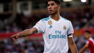 Akraf Hakimi ọmọ ẹgbẹ agbabọọlu Real Madrid