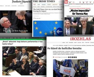 Europe newspapers screengrab