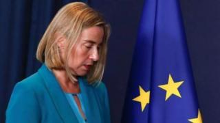 یورپی یونین کی فارن پالیسی کی سربراہ فیڈریکا مگیرینی