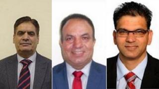 Waheed Akbar, Asif Masood, Tahir Malik