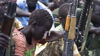 Maelfu ya watoto Sudan kusini wametumika kupigana vita vya kiaraia nchini humo