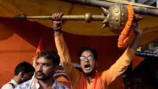 राम नवमी का जुलूस, पश्चिम बंगाल