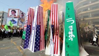 مظاهرات طهران