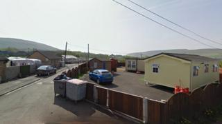 Cwmcrachen Gypsy and traveller site